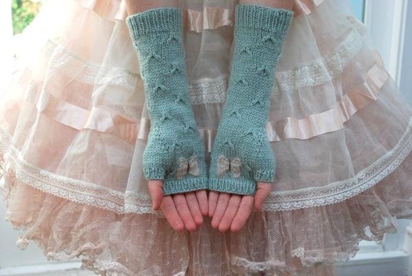 Armstulpen stricken - schoenstricken.de