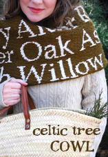 celtic tree cowl