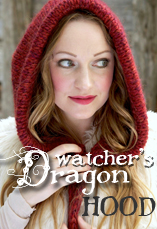dragon watcher's hood tiny owl knits