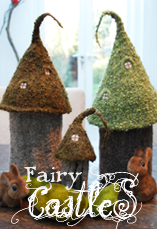 fairy castles tiny owl knits
