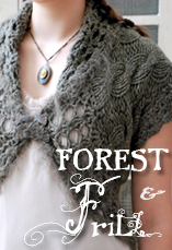forest and frill tiny owl knits