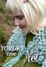 forget me not tiny owl knits