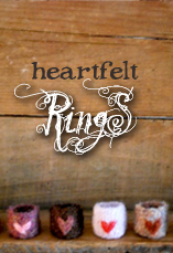hearfelt rings tiny owl knits
