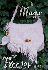 magictreetop bag tiny owl knits