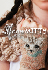 meow mitts tinyowl knits