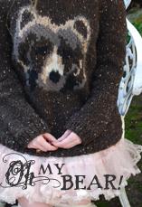 oh my bear! tiny owl knits