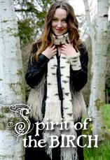 spirit of the birch tiny owl knits