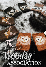 the woodsy association tiny owl knits