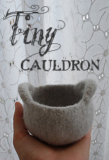 tiny cauldron tiny owl knits