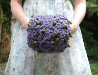tiny violet hand puff 2