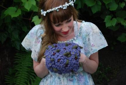 tiny violet puff