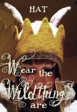 wear the wild things are HAT tiny owl knits