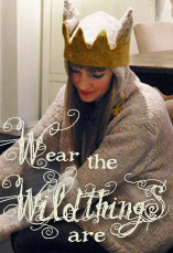 wear the wild things are tiny owl knits