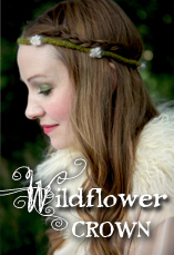 wildflower crown tiny owl knits