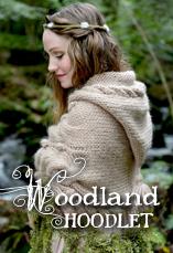 woodland hoodlet tiny owl knits