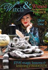 witch & wizard academy tiny owl knits copy