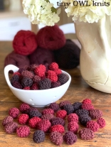 knitted berries
