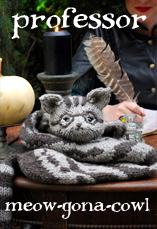 professor meow-gona-cowl tiny owl knits