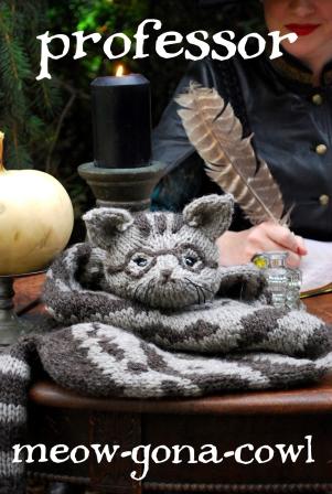 professor tiny owl knits
