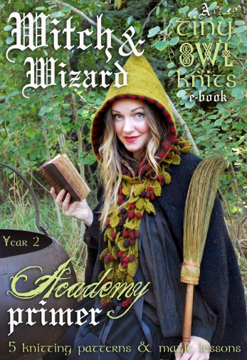 witch & wizard academy primer year 2 tiny owl knits cover