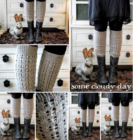 some cloudy day - tiny owl knits